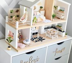 "829 Likes, 79 Comments - Whimsy Woods Designs. (@whimsy_woods) on Instagram: ""I apologise ahead of time for all the doll house posts you'll see from me today.  Today at 7pm…"""
