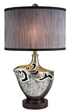 Pacifica H Table Lamp with Drum Shade Table Lamps For Sale, Table Lamps For Bedroom, Office Lighting, Desk Light, Tiffany Lamps, Cool Floor Lamps, Lighting Solutions, Light Fixtures, Contemporary