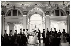 Providence Public Library Wedding, Ceremony, © Snap Weddings