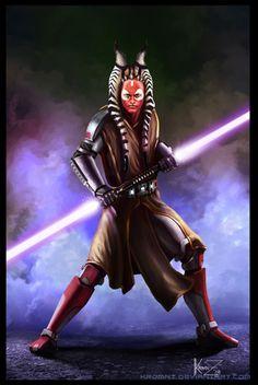 Jedi Master Tyrion Rexius - Togruta Jedi Master & Director of Jedi Temple Security
