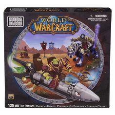 Mega Bloks World of Warcraft Barren Lands Chase NIB #MegaBloks