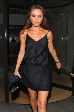 - Victoria Beckham at Gordon Ramseys Restaurant