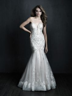 Allure Bridals is one of the premier designers of wedding dresses, bridesmaid dresses, bridal and formal gowns. Browse our collection and visit one of our retailers. Couture Wedding Gowns, Wedding Dress Trends, Wedding Dress Shopping, Dream Wedding Dresses, Designer Wedding Dresses, Bridal Dresses, Bridesmaid Dresses, Prom Dresses, Evening Dresses