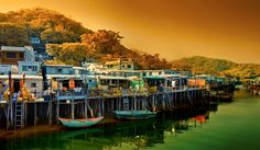 Tai O fisherman village.......Lantau island Hong kong
