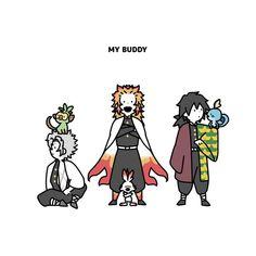 ❥K̟i̟m̟e̟t̟s̟u̟ N̟o̟ Y̟a̟i̟b̟a ̟✎doujinshi. Slayer Meme, Pokemon, Identity Art, Anime Demon, My Buddy, Manga, Doujinshi, Me Me Me Anime, Webtoon