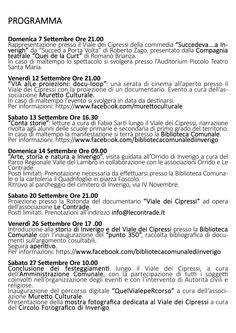 7-27 SETTEMBRE 2014 - 350 anni del viale dei cipressi (brochure p.3)