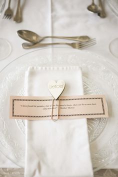 Such an elegant and classic place setting for Ounooi and Jacques' intimate Swellendam wedding Wedding Events, Weddings, Place Setting, Special Occasion, Elegant, Classic, Beautiful, Classy, Bodas