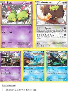 Pokemon Cards That Tell Stories