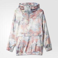 adidas(アディダス)通販オンラインショップ。ジャケット JACKETS Apparel オリジナルス サテン ジャケット [PASTEL SATIN HALFZIP JACKET]【Pastel Camo】 ウェア アパレルなど公式サイトならではの幅広い品揃えが魅力。