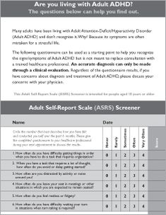 add adult screener