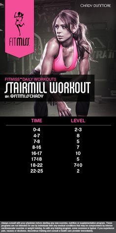 FitMiss Stairmill Workout