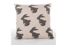 Our Origami Rabbit Scatter Cushions are screenprinted in waterbased inks on a cotton/linen blend basecloth. The pattern is printed on both sides of the cushion and fitted with an invisible zip at the bottom. The Cover is Fabric Care: Shr Cute Little Things, Cute Little Girls, Scatter Cushions, Throw Pillows, Cotton Linen, Decorative Accessories, Screen Printing, Color Pop, Origami
