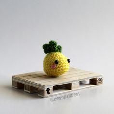 Pineapple Amigurumi FREE Pattern