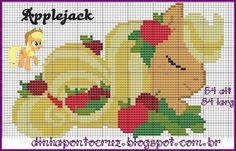 salve a tabela de cores aqui: http://dinhapontocruz.blogspot.com.br/2014/10/my-little-pony-ponto-cruz.html
