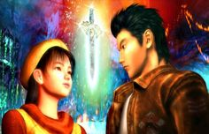 Shenmue (2000) When protagonist Ryo Hazuki comes home to the family dojo one day to find his father battling with a peculiar man in a green silk Kung Fu gi, he's shaken up. He engages in battle with the man, Lan Di, after his father is defeated, but ultimately is unsuccessful in defeating the stranger and must watch his father die in his arms. Ryo vows revenge, and thus Shenmue begins.