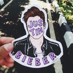 Justin Bieber [ig: wikearts]