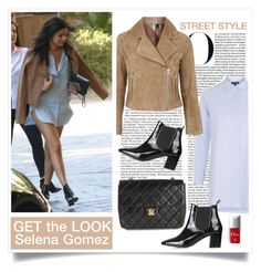 """Selena Gomez -GET the LOOK-"" by belieber-wera ❤ liked on Polyvore"