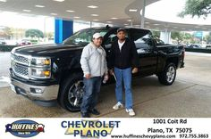 https://flic.kr/p/UJ1rKL | #HappyBirthday to Roberto from Pamela Profitt at Huffines Chevrolet Plano | deliverymaxx.com/DealerReviews.aspx?DealerCode=NMCL