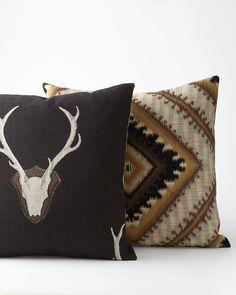 Georgia Rustic Pillows