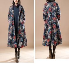 Women Print Winter Coat – Buykud