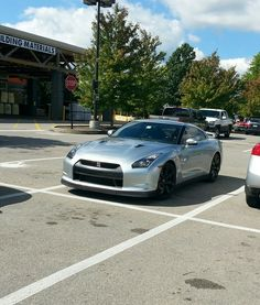 Going to Home Depot for some 2x4s?  Better bring the GTR. All that trunk space.