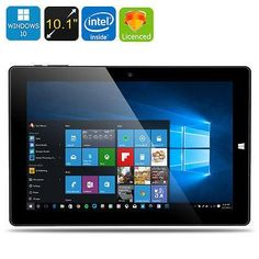Chuwi Hi10 Ultrabook Tablet PC. Description   At a Glance...  Fully licensed Windows 10 Tablet PC means there's no update fees or hidden licensing costs 10.1 Inch IPS screen with 1920x1200 resolutions brings a feast for your eyes Intel Cherry Trail 64 Bit CPU with 4GB DDR3 RAM is enough for all your needs Create a homer theater thanks to the HDMI output   For a keyboard compatible with this Chuwi tablet PC see product CVAHC-104143-KBD-ACC  Vi10 Ultimate Tablet PC 10.1 Inch...