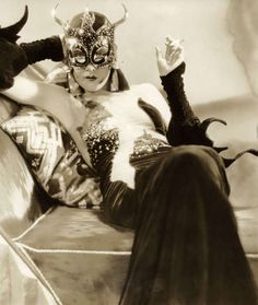 Miss Kay Johnson in Madame Satan a Cecil B deMille film of 1930.