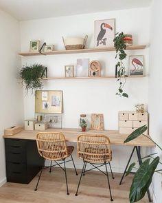 Home Decor Styles .Home Decor Styles Home Office Space, Home Office Design, Home Office Decor, Office Ideas, Office Inspo, Office Workspace, Office Spaces, Cozy House, Cheap Home Decor