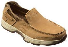 World Wide Sportsman Newport II Slip-On Boat Shoes for Men - Dark Taupe - 11.5M