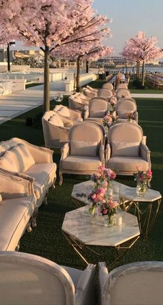 wedding lounge with pink peach blossom, spring wedding ideas Wedding Goals, Wedding Planning, Party Planning, Perfect Wedding, Dream Wedding, Garden Wedding, Wedding Shoes, Wedding Table, Wedding Lounge