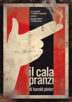 """""""Il Calapranzi"""" Poster by Andrea Sopranzi, via Behance"""
