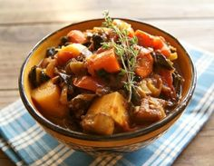 Curried Vegetarian Comfort Stew TASTY TASTY