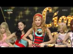 【LIVE 繁中字】150821 Girls' Generation 少女時代 SNSD - Lion Heart @ Music Bank C...