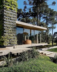 Minimal Architecture, Lake Cabins, Florida Home, Home Projects, Building A House, Minimalism, Pergola, Outdoor Structures, Exterior