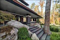 Yunakov Home Design - «Дом в стиле Райта»