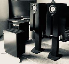 intimate audio DS-108 ST horn speakers with matching RI-10 subwoofers.