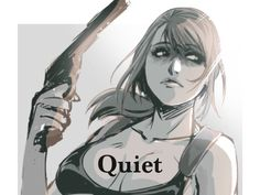 Quiet mgsv:tpp by Giantt2.deviantart.com on @DeviantArt