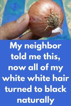 My neighbor told me this, now all of my white white hair turned to black naturally This is an all in one treatment for your hair. This will make your hair long, healthy and will make all premature white hair black again For this remedy you will need Onion Lemon Preparation: Peel and grate one onion Now remove juice of this with help of muslin cloth Process to follow Take half …