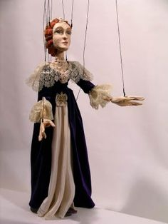 baroque lady by czech marionette.