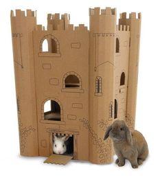 Image result for stick of truth cardboard castle interior