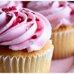 Vanilla Cupcakes Recipe Desserts with flour, sugar, baking powder, salt, milk…
