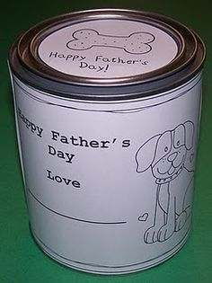 Father's day paint can...