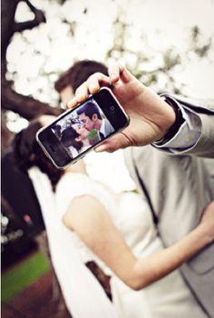 look at us! #wedding #photography