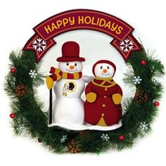 Washington Redskins Christmas Decorations and Gifts. Check this out. The Holidays Redskins Style.