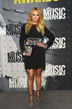 Singer-songwriter Miranda Lambert attends the 2017 CMT Music awards at the Music City Center on June 7, 2017 in Nashville, Tennessee.