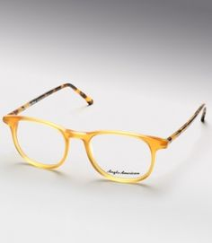 9ed3f36dd8 Anglo American eyeglasses are far from your average frames. Not only are  the styles truly