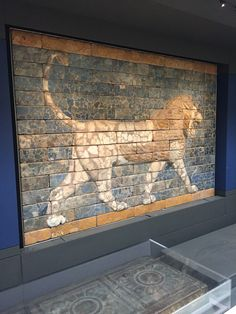 d4dcd4cd4 The Lion at Nebuchadnezzar's Ishtar Gate, Babylon. Photo taken at the  British Museum.