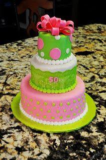 bright cake