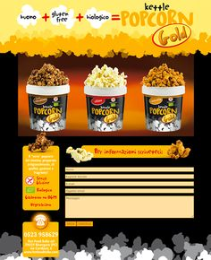 Popcorn Gold - #Web #Marketing #landingpage