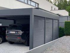 Alu Carport, Carport Aus Aluminium, Aluminum Carport, Carport Garage, Pergola Carport, Pergola Plans, Design Garage, Carport Designs, Pergola Designs